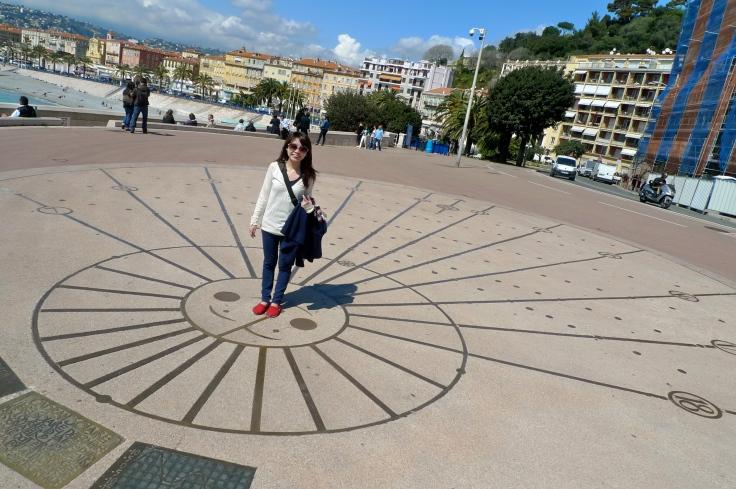 The human dial, Nice is nice, France